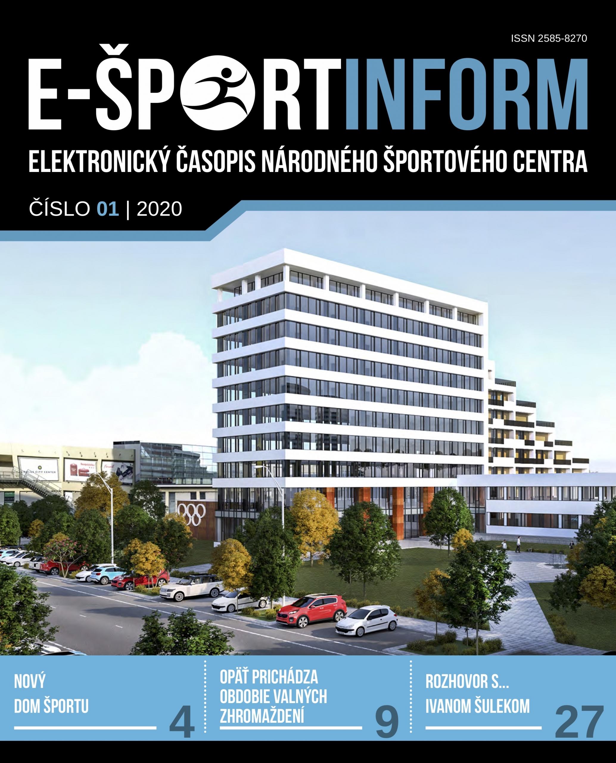 E-Športinform 2020/01