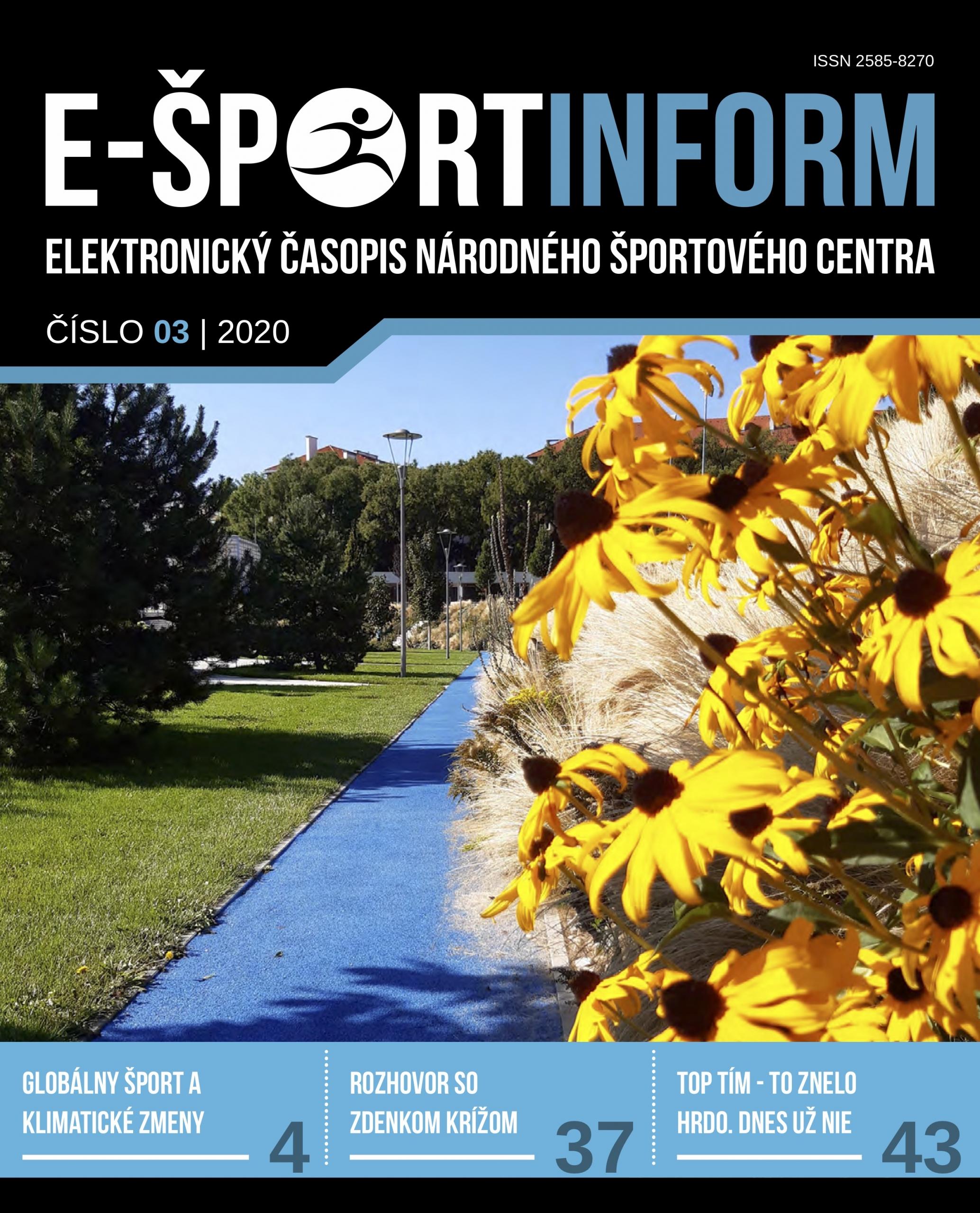E-Športinform č.3/2020